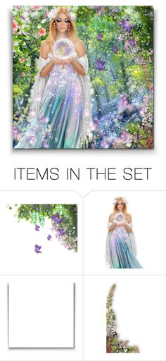 """""""Blossom Fairy ♥"""" by asia-12 ❤ liked on Polyvore featuring art"""