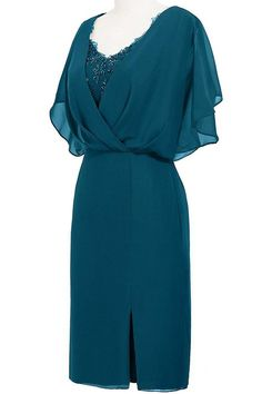 ORIENT BRIDE Modern Scoop Short Sleeve Sheath Mother of the Bride Dresses at Amazon Women's Clothing store: