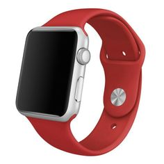Soft Silicone Replacement Sports Edition Band For iWatch. You can match this band with any Apple Watch Series 4 case of the same size. It also works with all previous versions of Apple Watch, including Apple Watch Series Apple Watch 42mm, Apple Wrist Watch, Buy Apple Watch, Apple Watch Models, Apple Watch Series 1, Kily Jenner, Apple Watch Accessories, Phone Accessories, Sport Watches