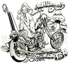 Dark Art Drawings, Car Drawings, Colorful Drawings, Outlaws Motorcycle Club, Motorcycle Art, Pop Art Decor, Harley Davidson Art, Cars Coloring Pages, Koi