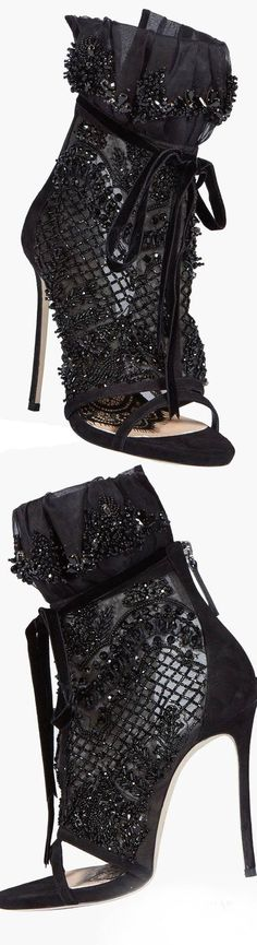Dsquared Victorian Embellished Bootie