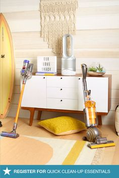 Guests coming over? Be prepared with Dyson — register for the right vacuum and you'll never have to worry about last-minute get-togethers or how you're going to clean the house in time. Update your list on macys.com to include all the essentials!