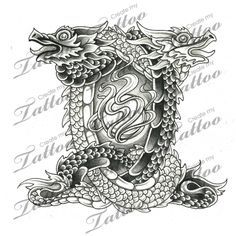 ... Tattoo Designs on Pinterest | Gemini Tattoos and body art and Dragon
