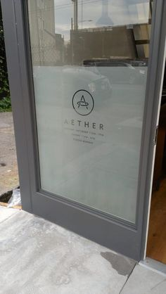 Aether Etchmark graphics window covering