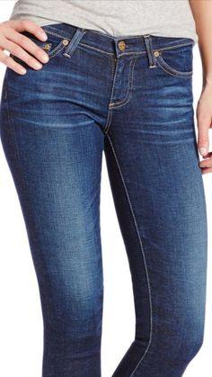 ADRIANO GOLDSCHMIED The Stilt Cigarette Skinny Jeans Women's Size 24 New $188 #AGAdrianoGoldschmied #SlimSkinny