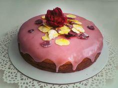 Zdravé Torty: Malinová punčová torta