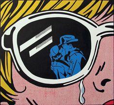 image dupliator at orbital comics gallery raises questions of appropriation in art, using pop artist roy lichtenstein as a case study. Roy Lichtenstein, Gcse Art Sketchbook, Mass Culture, Pin Up, Arte Pop, Comics Girls, Vintage Comics, Art Design, Comic Artist