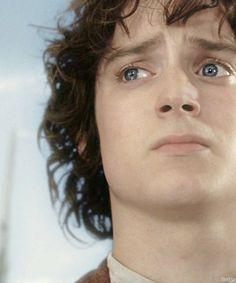 Frodo at Aragorn's cornation