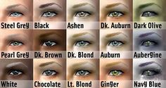 Mod The Sims - Natural Redhead Project: 15 subtle unisex eyebrows for all skintones, plus DEFAULTS.