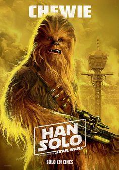 Solo A Star Wars Story movie poster Star Wars Film, Star Wars Fan Art, Ewok, Chewbacca, Star Wars Characters, Star Wars Episodes, Vader Star Wars, Star Trek, Darth Vader