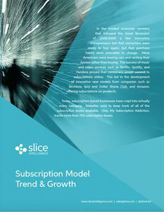 Subscription Model Trend and Growth