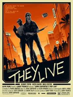 They Live by Matt Ferguson / Tumblr / Website / Twitter 18″ X 24″ officially licensed screen prints featuring a glow in the dark ink layer. S/N regular edition of 125 & black/white variant edition of...
