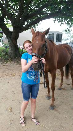 I love  my  horse. ☺