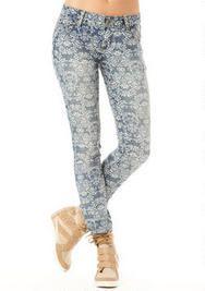 Hot Kiss Printed Skinny Jean