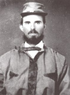"""1st Lt. John Emerson was a 24 year old from Cartersville, NC in the 26th NC. As he charged forward with Company E """"The Independent Guards"""" he was wounded and would be captured July 5. He would die in a New York hospital of his wounds."""