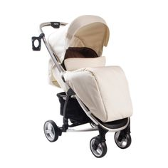 My Babiie Billie Faiers MB100 Pushchair in Cream Kiddicare.com