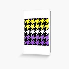 Hounds Tooth, Canvas Prints, Art Prints, My Arts, Greeting Cards, Printed, Abstract, Purple, Awesome
