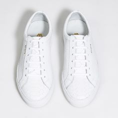 049f9ea7889d Low sneaker - White Python Embossed Leather Axel Arigato