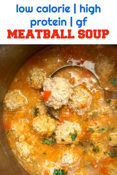 """Romanian Meatball Soup with ground turkey, truly a classic and most certainly a much loved soup. Hearty and comforting, our """"ciorba de perisoare"""" has been a favourite for years, and is regarded as one of our traditional dishes. A great dish all year aroun Ground Turkey Soup, Ground Turkey Meatballs, Ground Turkey Recipes, Ravioli, Soup Recipes, Cooking Recipes, Stuffing Recipes, Protein Recipes, Easy Recipes"""