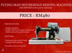 60 best promotion images on pinterest promotion sale promotion flying man household sewing machine ja2 4 fandeluxe Gallery