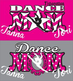 Dance Mom Shirt by WhitefishCreations on Etsy