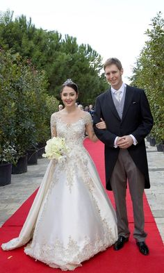 Crown Prince Leka II of Albania weds, plus more royal photos of the wek - HELLO! US