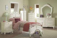 tempat tidur anak romance - Kamar set anak
