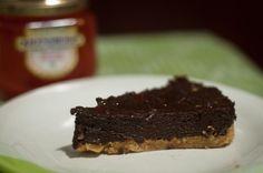 Torta de Chocolate com amendoim e geleia de pimenta