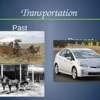 This power point compares past and present with transportation, housing, school, farming, cooking, and laundry. The last slide has pictures from th...