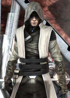 Galen Marek of Star Wars: The Force Unleashed in his Jedi Adventure Robes