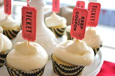 Circus / carnival Party cupcakes simple yet cute
