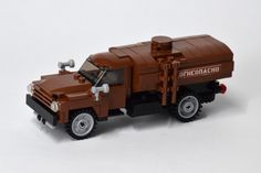 https://flic.kr/p/PgK8Gw | ZIL-130 Fuel Truck (1) | Aircraft cannot fly without ground support. This ZIL truck used to be a frequent sight at Soviet airfields. Somewhat unexpectedly, this is _not_ my design - it was graciously donated by yhoohooho with me repurposing it to a fuel truck.