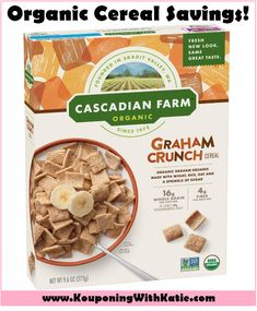 Organic Cereal, Organic Snacks, Chewy Granola Bars, Granola Cereal, Whole Grain Wheat, Whole Grain Cereals, Crunch Cereal, Organic Chocolate, Food Packaging Design