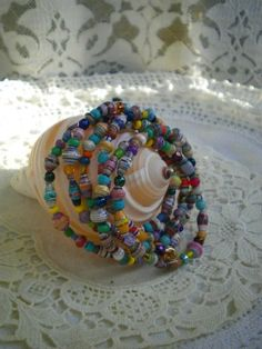 Wrap Around Beads | Paper Beads & Jewelry
