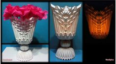 How To Make Origami Flower Vase And Crepe Or