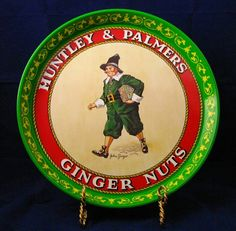 Huntley and Palmers Ginger Nuts by TwoCousinsCollection on Etsy