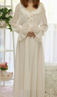 PRINSTY gorgeous vintage nightgown lining / ankle length