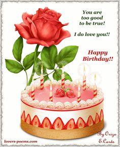 happy birthday poems for friends Birthday Poem For Friend, Birthday Poems, Happy Birthday My Love, Sister Birthday, Birthday Images, Happy Birthday Cards, Birthday Greetings, Birthday Gifs, Card Birthday