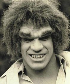 Lou Ferrigno as HULK. Posted by  pacalin.