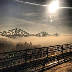 Forth Rail Bridge - Fife, Scotland