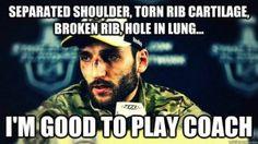Hockey is the hardest sport!