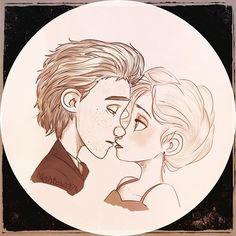 Hiccelsa Portrait>>>I don't ship it but dang this art work is goals