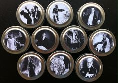 Classic Movie Monsters 10 travel candles ~ Godzilla ~ Nosferatu ~ Dracula ~ Wolfman ~ Frankenstein ~ 100% soy by SaintsofPopCulture on Etsy