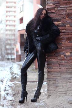 "pelzsklave: "" Love that outfit! """