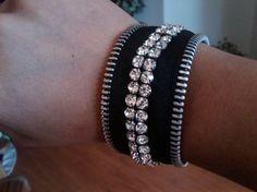 Zipper Bracelet: