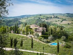 Luxury Farm / Ranch / Plantation Property in Castellina In ChiantiSiena | Charming medieval hamlet on top of the Chianti Hills | Milan Sotheby