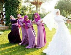 muslim bridesmaids - Google Search