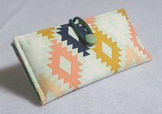 Bi-Fold Wallet / Clutch - Agave Field