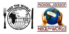 『Feed the World & Heal the World』 Bandaid Do they know it's Christmas マイケル・ジャクソン ヒール・ザ・ワールド Michael Jackson Heal the World