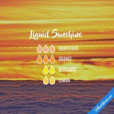 Liquid Sunshine — Essential Oil Diffuser Blend